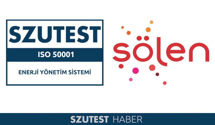 ŞÖLEN ÇİKOLATA ' ya ISO 50001 Belgesi.