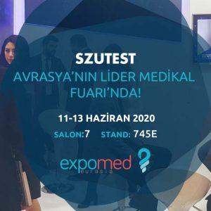 SZUTEST Expomed İstanbul Fuarı'nda